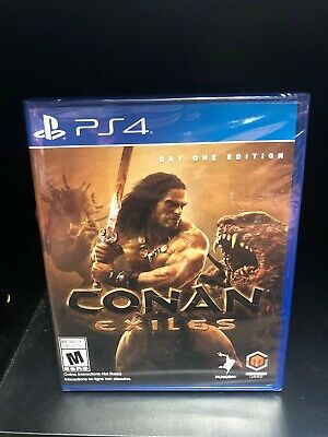 Conan Exiles: Day One 1 Edition (Sony PlayStation 4, PS4) - Factory Sealed