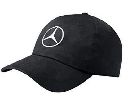 Mercedes Benz BASEBALL CAP. Merc Logo New Hat.Black or White