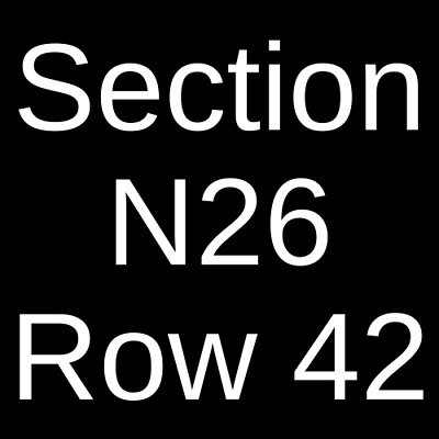 4 Tickets Utah Utes vs. Northern Illinois Huskies Football 9/7/19