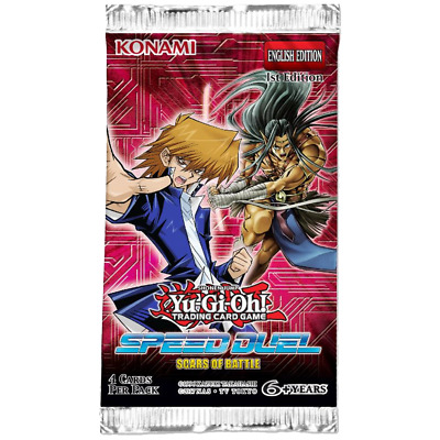 Yu-Gi-Oh! Speed Duel: Scars of Battle Booster Pack new