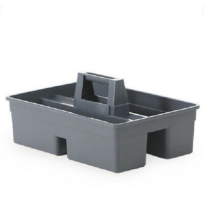 1Pc 3 Dividers Tool Caddy General Purpose Tote Tray with Handle