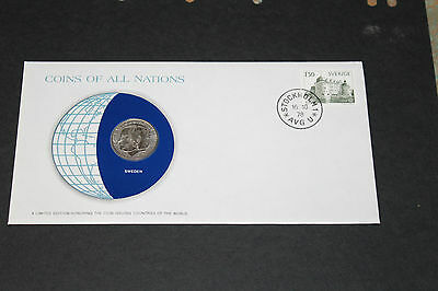 Sweden Coins Of All Nations 1978 1 Krona Coin Unc