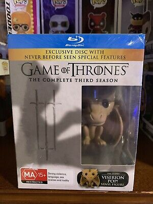 Funko Pop RARE GRAIL Game Of Thrones Viserion Blu Ray BEST PRICE! FREE SHIPPING!