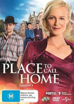 A Place To Call Home: Season 3 (DVD, 3 Discs) Region 4 - Very Good Condition