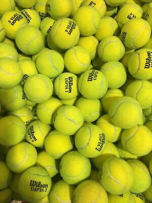 Lot of 500 Used Tennis Tennis Balls