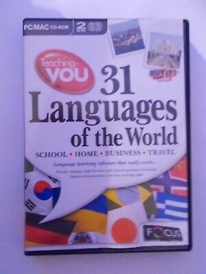 - 31 Languages Of The World [Cd-Rom] Language Learning Win/Mac [Brand New]