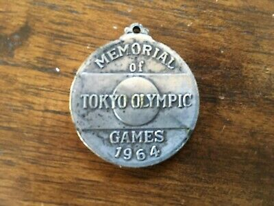 MEMORIAL OF TOKYO OLYMPIC GAMES 1964 MEDALLION Souvenir from 1964 OLYMPICS