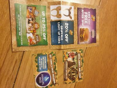 2 tickets to Chessington world of adventure Thursday 5th September