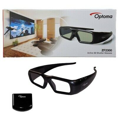 Genuine Optoma ZF2300 Starter Kit  Active 3D shutter Glasses for Projector