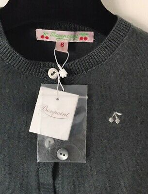 Bonpoint Baby Girl Cardigan Age 6months RRP £85