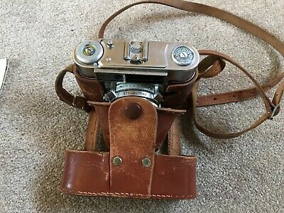 Braun Paxette Camera with case & accessories