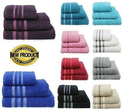 Luxury 100% Egyptian Cotton 600 GSM Bathroom Towels Set Hand Bath  Sheet Towel