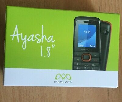 Mobiwire Ayasha Mobile 1.8 Inch Mobile Phone with £10 Vodafone Credit included.