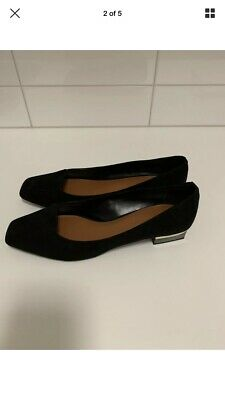 Charles & Keith Loafer Shoes Black Size 40