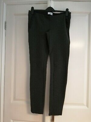 Ladies Mamalicious Maternity Leggings Charcoal Size Medium Excellent Condition