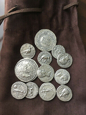 🎁 12 ANCIENT ROMAN COINS - Treasure, Coins, Artifacts, Empire, Rome, Italy