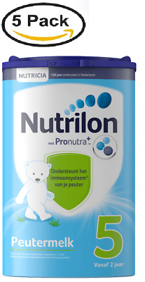 5 X Nutrilon 5 TODDLER MILK from NUTRICIA for 24 MONTHS UP ::  DUTCH PRODUCT