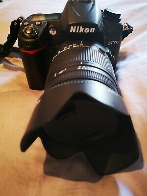 NIKON D7000 DSLR Camera with 18-250mm Lens - Black with extras