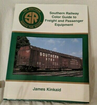 Southern Railway Color Guide Freight Passenger Equipment train railroad Sealed