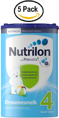 5 X Nutrilon 4 TODDLER MILK from NUTRICIA for 12 MONTHS UP :: DUTCH PRODUCT