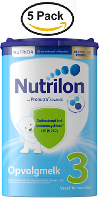 5 X Nutrilon 3 FOLLOW ON MILK from NUTRICIA for 10 MONTHS UP :: DUTCH PRODUCT