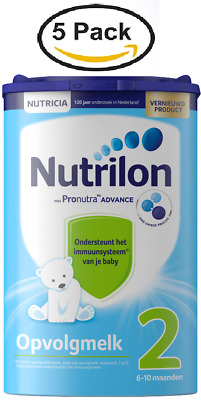 5 X Nutrilon 2 FOLLOW ON MILK from NUTRICIA for 6 MONTHS UP :: DUTCH PRODUCT
