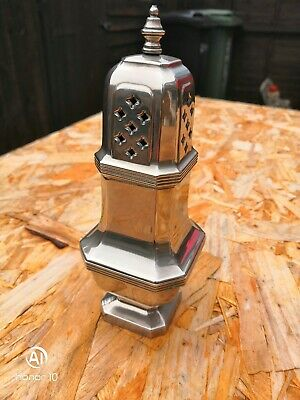 Antique Large Silver Plated Sugar Shaker