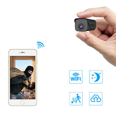 Mini Spia Full HD Telecamera IP Wireless Wifi Nascosta Micro Video Spy Camera DV