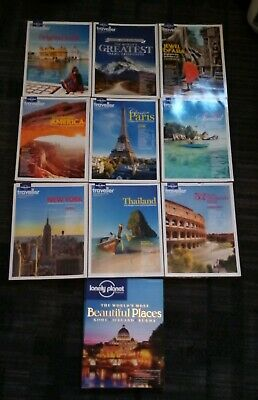 86 x Lonely Planet Magazines, Back Issues in Excellent Condition
