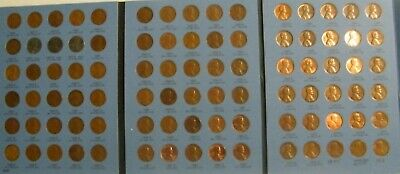 Complete set 1941- 1974 PDS Lincoln Wheat & Memorial Penny Cent Set US 90 coins