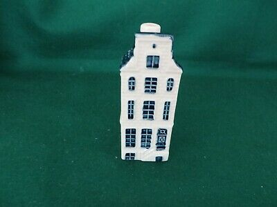 DUTCH AIRLINES klm bols blue delft house number 68, empty in EX COND