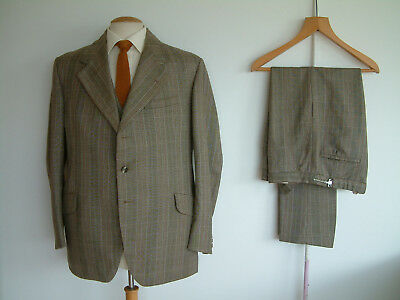 """BESPOKE 3 PIECE SUIT..46"""" x 38""""..TOWN & COUNTRY..HEAVYWEIGHT CLOTH..GOODWOOD"""