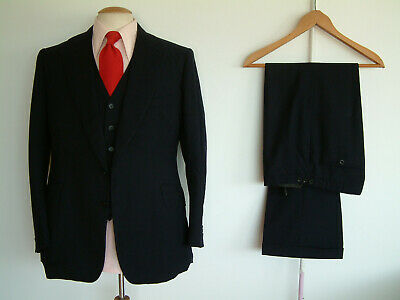 """BESPOKE 1970's SUIT..FLARED..40"""" x 34""""..PERMANENT TURN UP'S..NUTTER..JAGGER..ROW"""