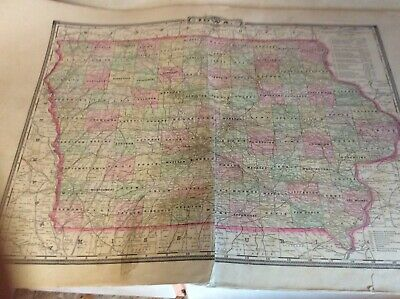 Plat Book, Atlas Boone County Iowa (Partial) 1896, Map, History