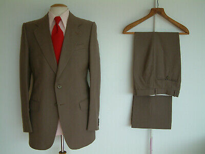 """1970's SUIT..FLARED..38"""" x 32""""..TALL..70's DISCO..GLAMTASTIC 70's..JOHN WEITZ"""
