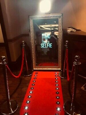 entertainment business for sale (magic mirror photobooth and Table Selfie pods