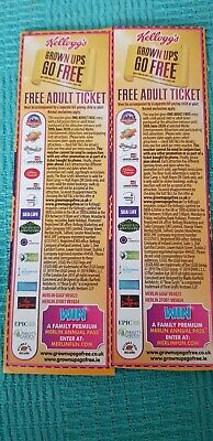 2 For 1 For London Eye, Blackpool Tower, Sea Life, Warwick Castle, Alton towers
