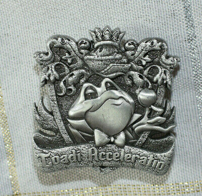 Disney Pin 132680 DLR - Crests of the Kingdom – Mr. Toad's Wild Ride LE