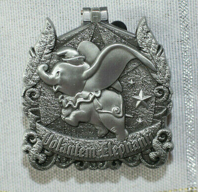 Disney Pin 133968 DLR - Pin of the Month - Crests of the Kingdom - Dumbo