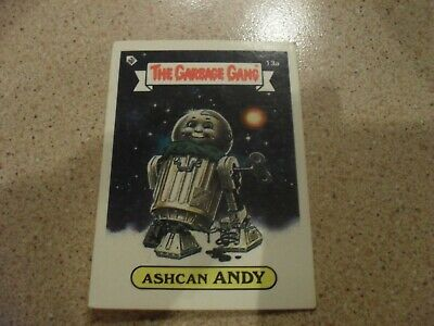 The Garbage Gang series 1 (AUS series) 13A ASHCAN ANDY card