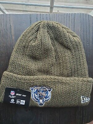d29f17ae NEW ERA CHICAGO Bears Salute to Service Knit Hat Beanie Adult ...