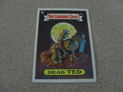 The Garbage Gang (AUS series) series 1- 5A DEAD TED card