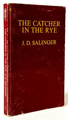 The Catcher in the Rye, J.D. Salinger Bantam Books, Classic Red Cover