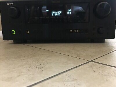 DENON AVR- 5600 Dts Home Theater Receiver With Remote Bundle
