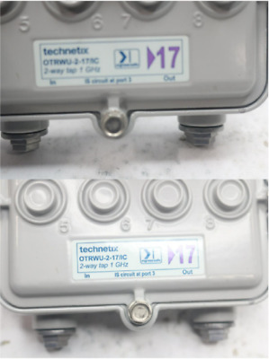 Technetix 2-Way 1 GHz Outdoor Tap OTRWU-2-17/IC