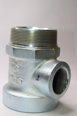 "NEW EBW//Franklin 310-400-01 Extractor 4/"" x 4/"" x 2/"" Tee Vent Valve Fitting"
