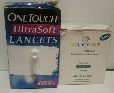 Onetouch Ultra Soft Lancets, Open Box Qty: 127