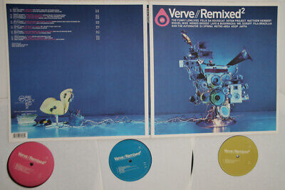 3LP VARIOUS Verve // Remixed2 B000093201 VERVE UNITED STATES Vinyl