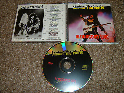 Bloodgood Live Vol 2 /Shakin the World CD 1990 Volume Two Stryper Petra Guardian