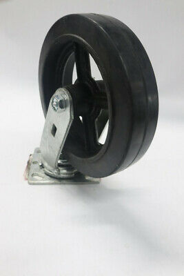 "8"" x 1-1/2"" Rubber Casters"